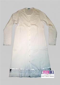 Andra 6524 camicia da notte da donna aperta in interlook