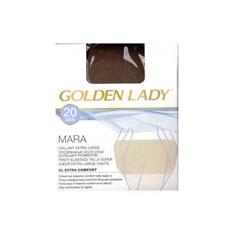 Golden Lady collant 20den velato Extra large Donna