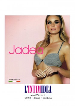 Jadea 4594 Coordinato push-up + slip modello fantasia Donna