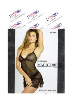 Badydoll in tulle ricamato MAGIC DREAM 6964