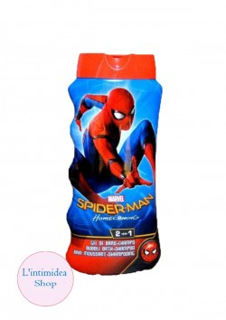 SPIDER-MAN BAGNOSCHIUMA SHAMPOO 2in1 475 ML BAMBINI L\'INTIMIDEA